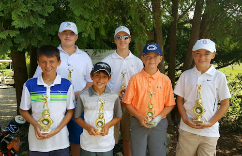 Junior Club Championship 2016 <br /> (left to right) Oliver Watson, Mario Hickey, Ike Rothman, Austin Edwards, Shawn Flaherty, Justin Tullo