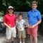 Junior Golf Academy 2014<br/> Zachary Cioffi - Putting Champion (left)<br/>Oliver Watson - Pitching Champion (center)<br />Mark Gambeski - Chipping Champion (right)