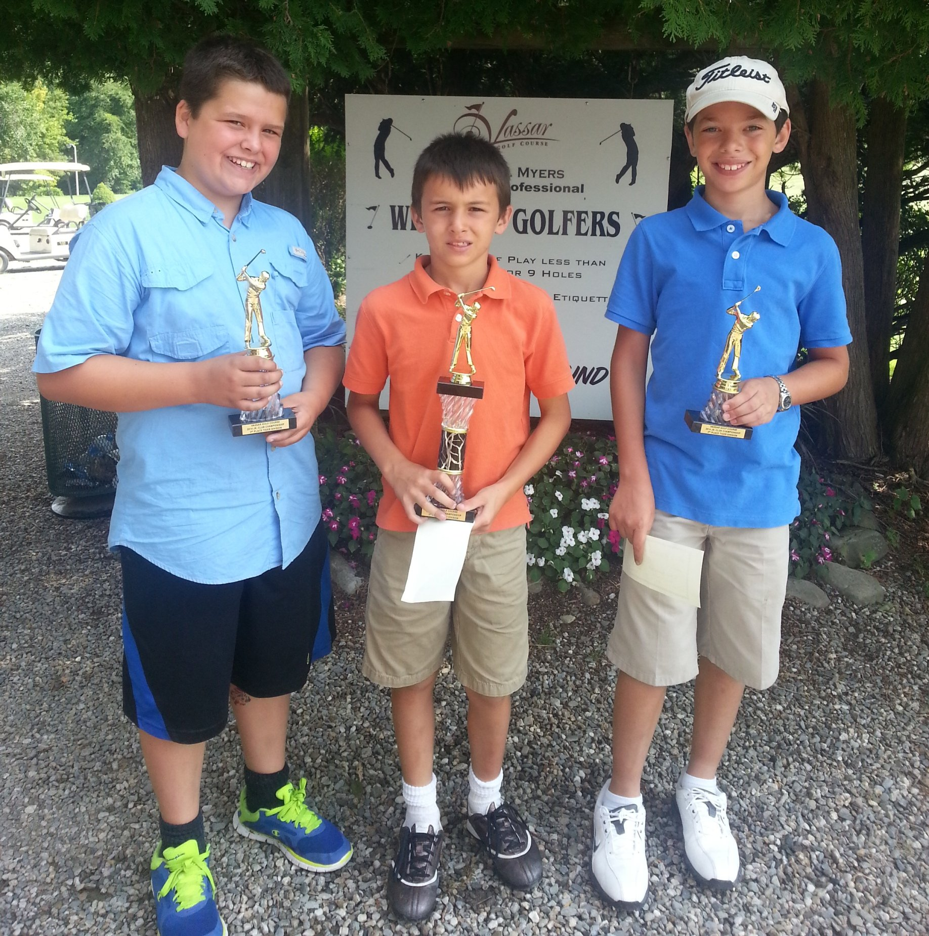 Junior Club Championship 2014 - Tiger Division